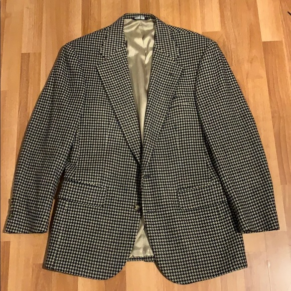 Polo university club men's size 38 wool blazer